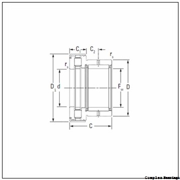 NBS NKXR 50 Z complex bearings