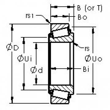 AST LM29748/LM29710 tapered roller bearings