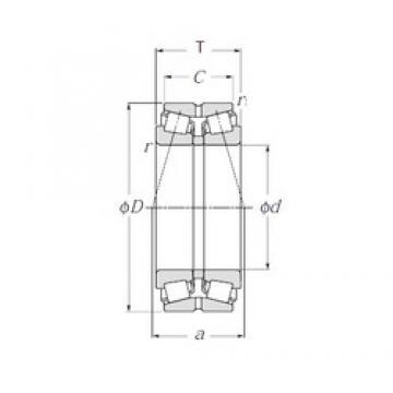 NTN 413076 tapered roller bearings