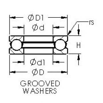 AST 51306 thrust ball bearings