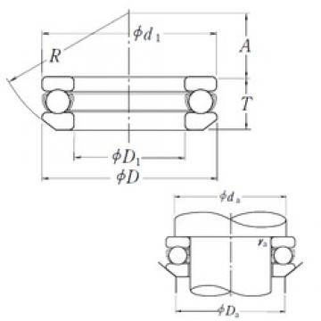 NSK 53212 thrust ball bearings