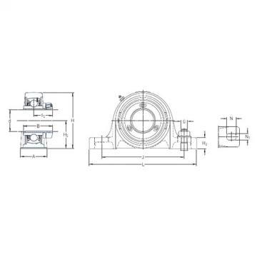 SKF SY 2.7/16 PF/AH bearing units