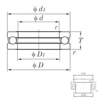 KOYO 51126 thrust ball bearings