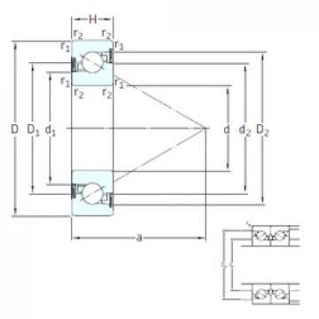 35 mm x 72 mm x 15 mm  SNFA BS 35/72 /S 7P62U thrust ball bearings