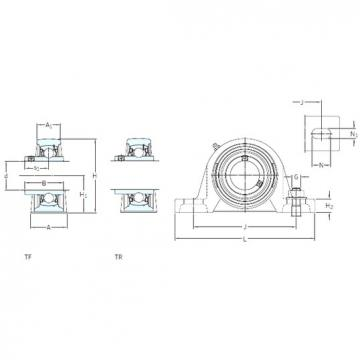 SKF SY 25 TF bearing units