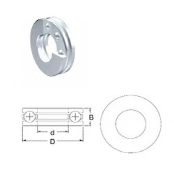 ZEN S51101 thrust ball bearings