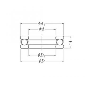 RHP LT3.7/8 thrust ball bearings