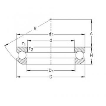 NKE 53210 thrust ball bearings