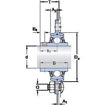 SKF PF 35 TR bearing units