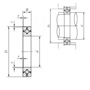 35 mm x 60 mm x 10 mm  IKO CRBH 3510 A UU thrust roller bearings