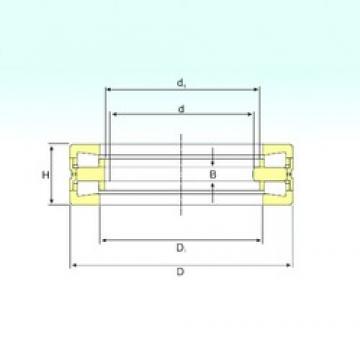 260 mm x 360 mm x 20 mm  ISB 350981 C thrust roller bearings