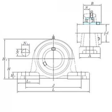KOYO UCPX10-31 bearing units
