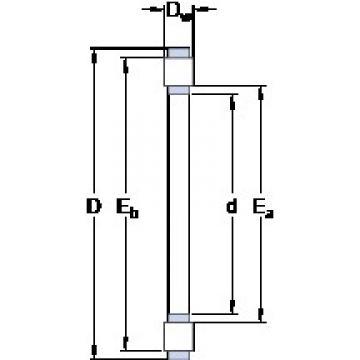 SKF K 81226 TN thrust roller bearings