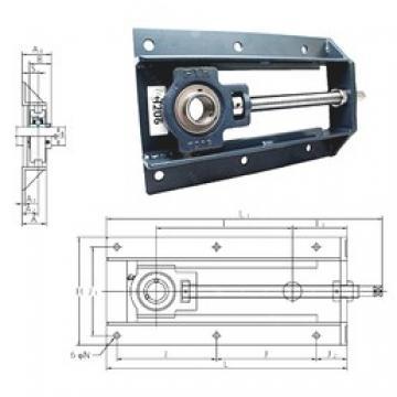 FYH UCTH213-40-300 bearing units