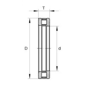 INA RT733 thrust roller bearings