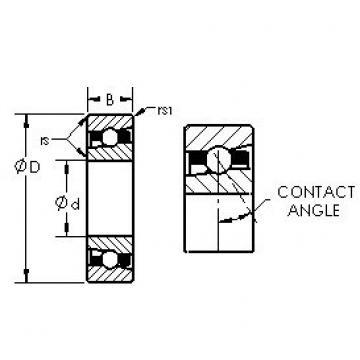 AST H71918C/HQ1 angular contact ball bearings