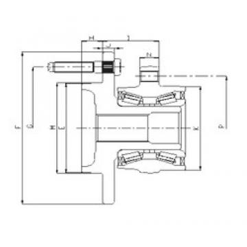 ILJIN IJ223066 angular contact ball bearings