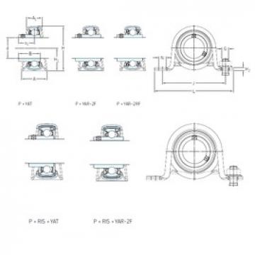SKF P 30 WF bearing units