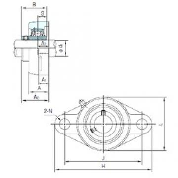 NACHI UCFL317 bearing units