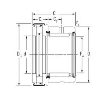 KOYO RAXZ 520 complex bearings