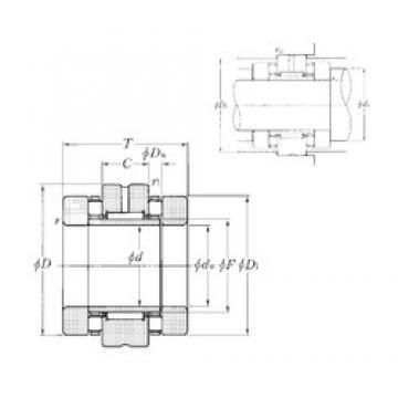 NTN ARN2557T2 complex bearings
