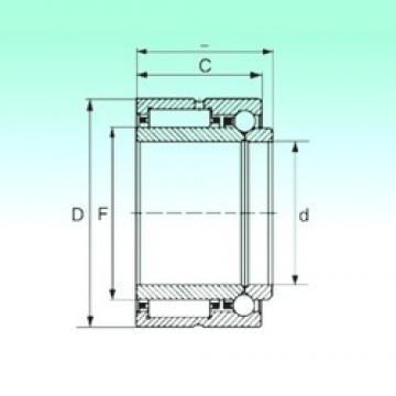 35 mm x 55 mm x 30 mm  NBS NKIB 5907 complex bearings