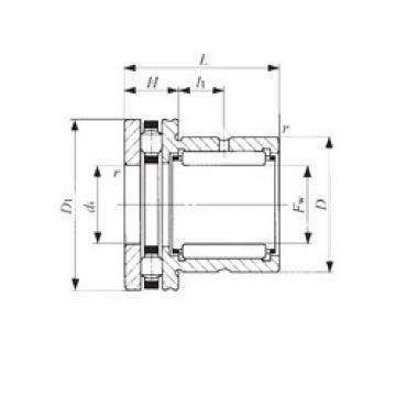 IKO NBX 2030 complex bearings