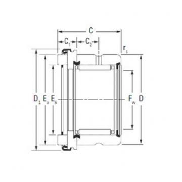 KOYO RAX 560 complex bearings