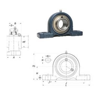 FYH UCP314-44 bearing units
