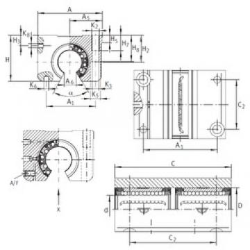 INA KTNOS 20 C-PP-AS linear bearings
