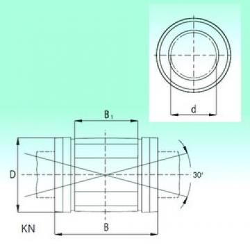 16 mm x 26 mm x 36 mm  NBS KN1636 linear bearings