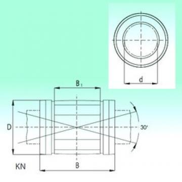 40 mm x 62 mm x 80 mm  NBS KN4080-PP linear bearings
