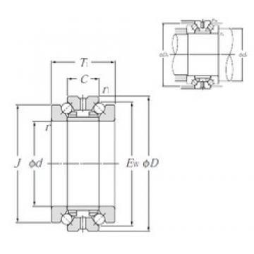 NTN 562956M thrust ball bearings