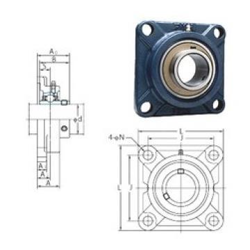 FYH UCFX14 bearing units