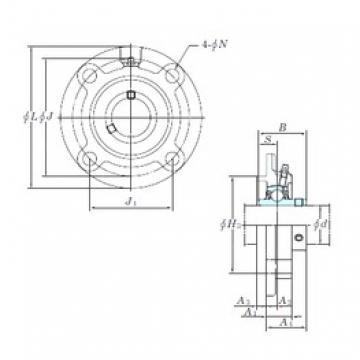KOYO UCFCX13 bearing units