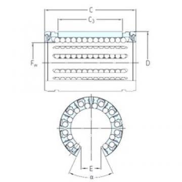 SKF LBHT 30 A linear bearings