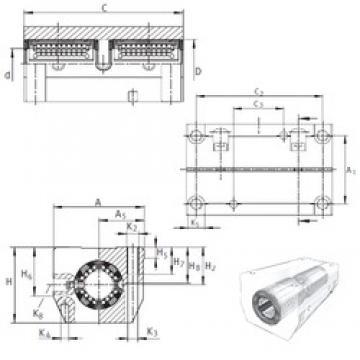 INA KTSG16-PP-AS linear bearings