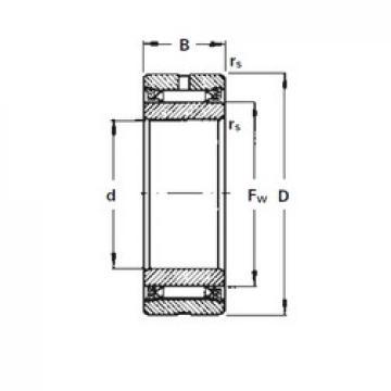 55 mm x 85 mm x 28 mm  Timken NA2055 needle roller bearings