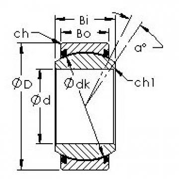 AST GEZ152ET-2RS plain bearings