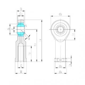 LS SI17ES plain bearings