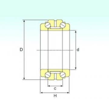 ISB 234456 thrust ball bearings