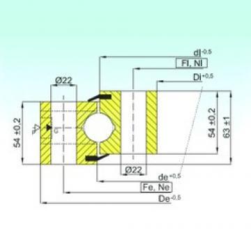 ISB NB1.25.1155.200-1PPN thrust ball bearings