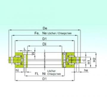 ISB YRTS 460 thrust roller bearings