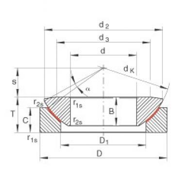 INA GE17-AW plain bearings