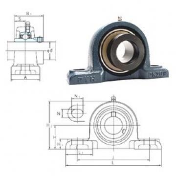 FYH NAPK205 bearing units