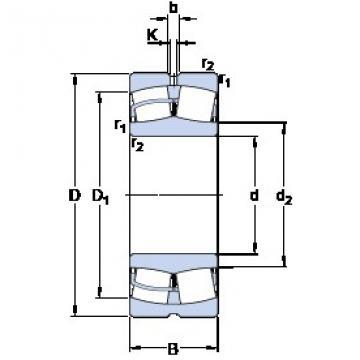 150 mm x 320 mm x 108 mm  SKF 22330 CCJA/W33VA406 spherical roller bearings