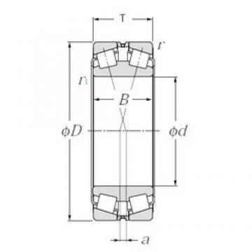 120 mm x 180 mm x 46 mm  NTN 323024 tapered roller bearings