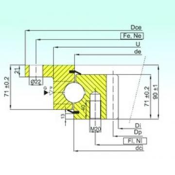 ISB ZBL.30.1355.201-2SPTN thrust ball bearings