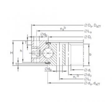 INA VI 16 0420 N thrust ball bearings