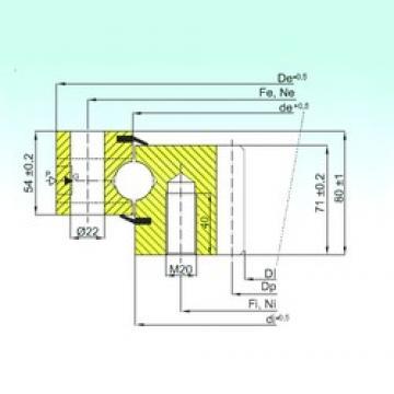 ISB ZB1.25.1455.200-1SPTN thrust ball bearings